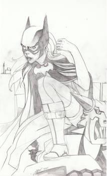 Batgirl Pencils