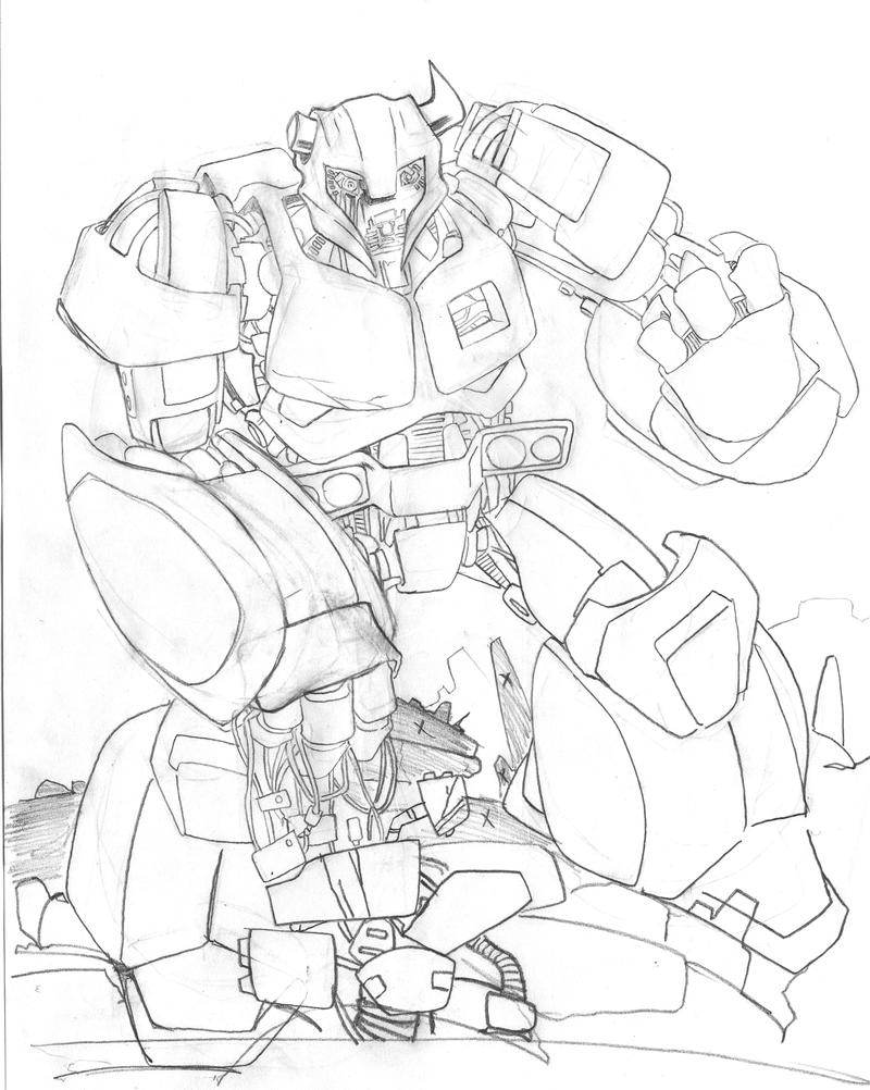 Transformers Prime Cliffjumper Free Colouring Pages