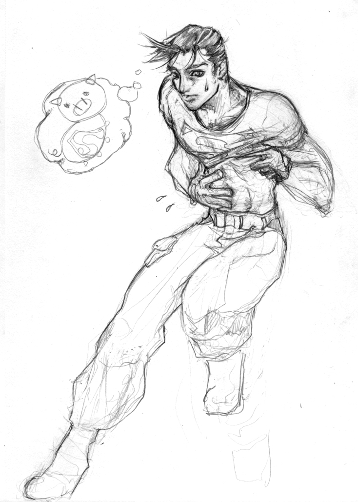 Superboy flab by LagunaL8