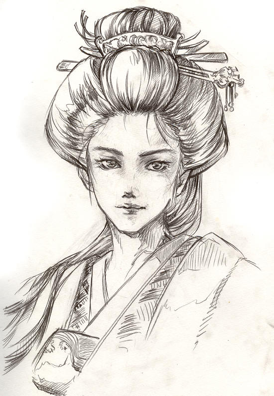 Ooku Royal Japanese Concubine By Lagunal8 On Deviantart