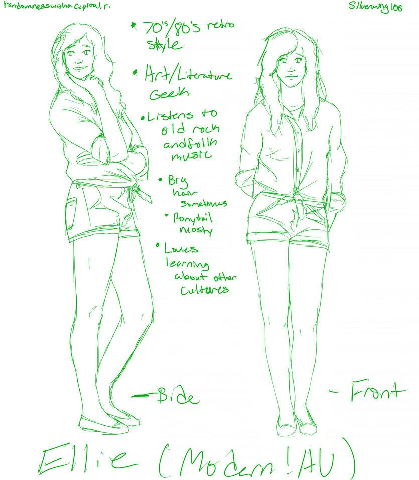 Ellie Modern!AU Ideas by Silverwing100
