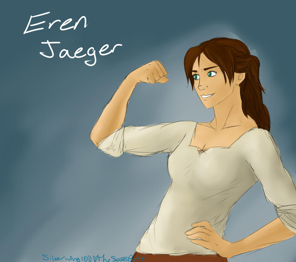 Eren Jaeger by Silverwing100