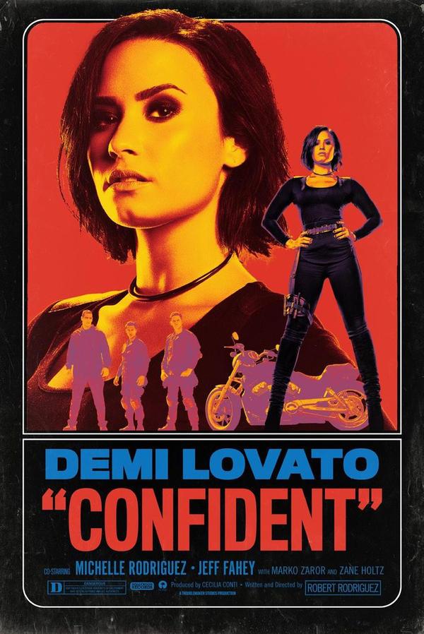 Demi Lovato Confident Poster By Littlemonsterlovatic