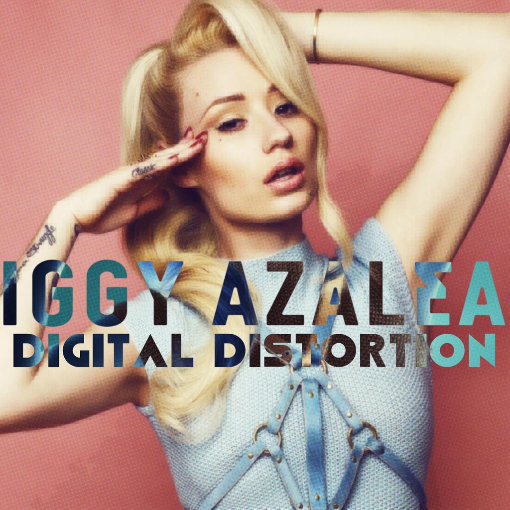 Iggy Azalea Album Cover Iggy Azalea - Digital ...