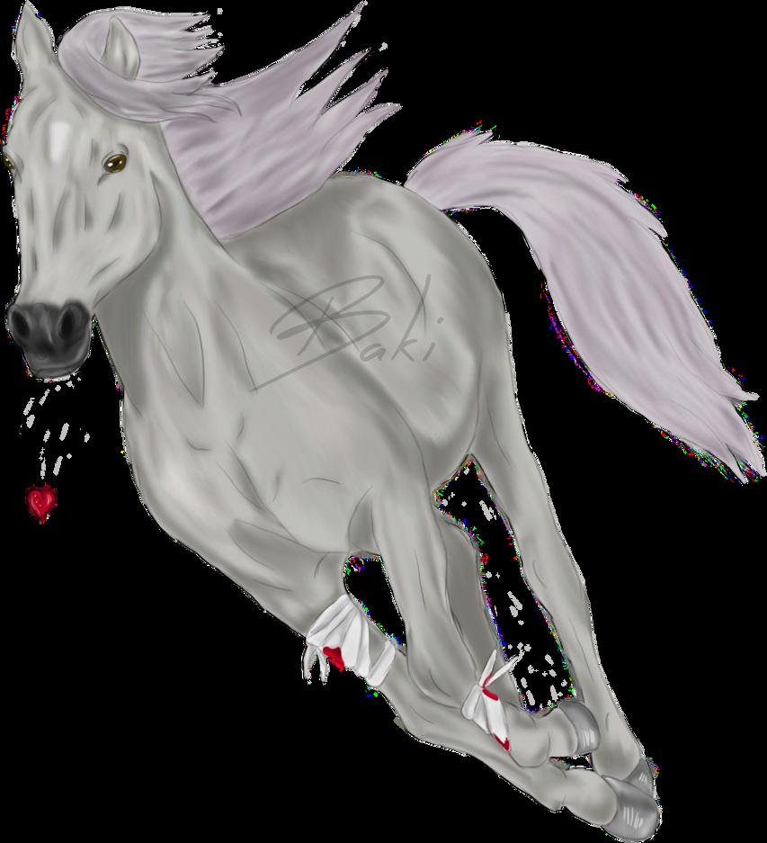 I run my love! by BakiArtist
