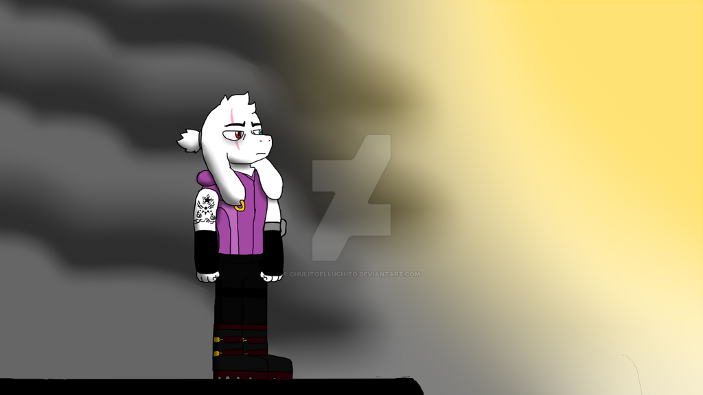 Asriel Covenant and the sunshine by chulitoelluchito