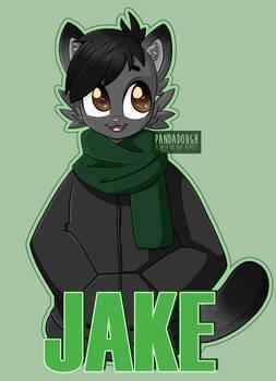 Furry Badge Commission for ZalktheAlk