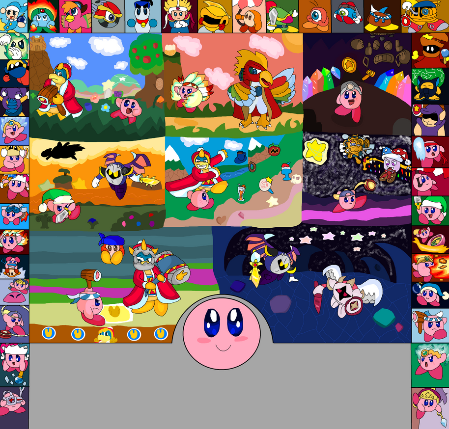A Tribute Of Kirby Super Star And Ultra By CRenea10