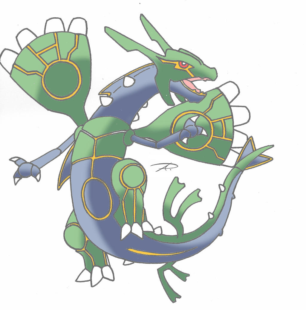 Mega Rayquaza fusion with Groudon and Kyogre by Yamaz009 ...