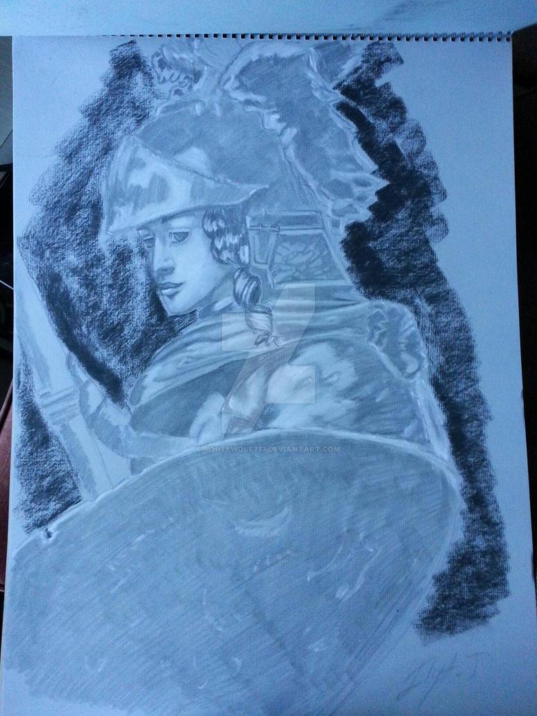 Rembrandt recreation by WhiteWolf737