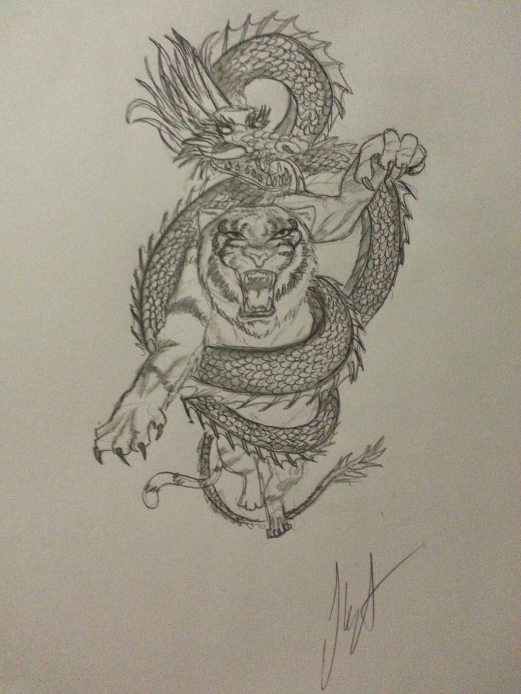 tattoo design  by WhiteWolf737