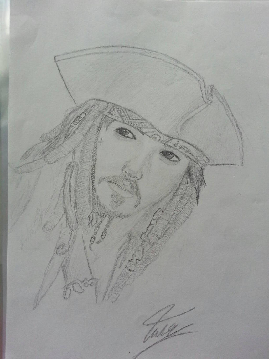 jack sparrow by WhiteWolf737