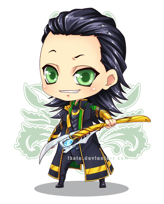 Chibi Loki Again by Iksia on DeviantArt