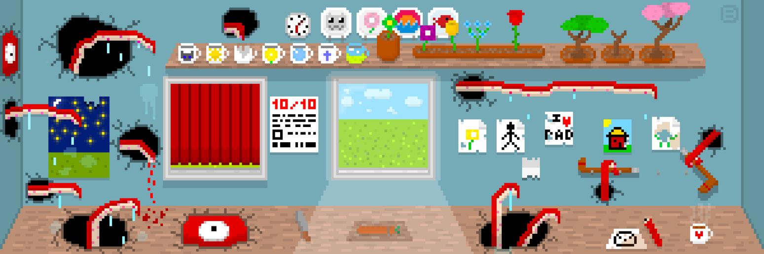 Tentacle Kitchen|Pixel Art by Bad-E07 on DeviantArt