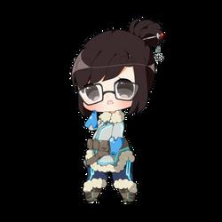 Mei is Bae by RhoAmya