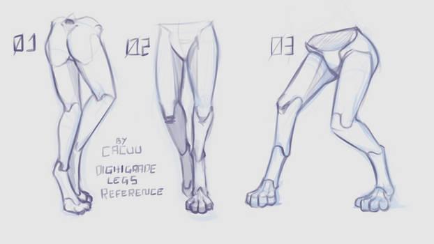 Digitigrade Legs Reference