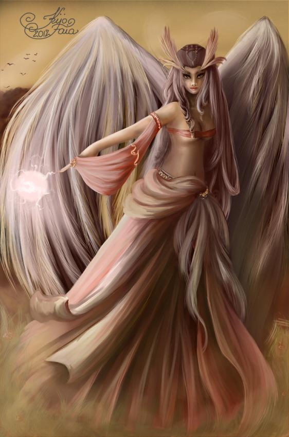 Goddess (or Morgana) by KijoFaia