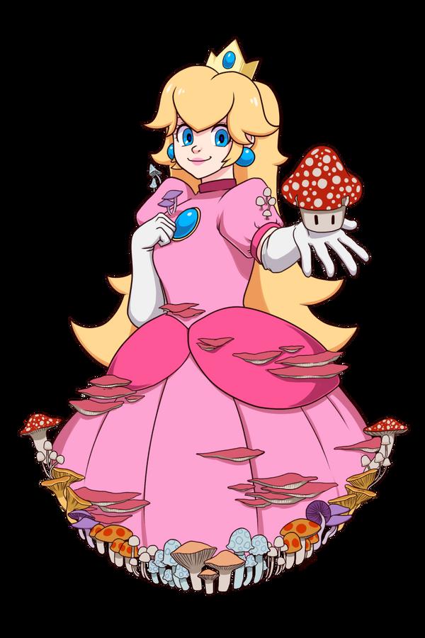 Mushroom Princess by JUN-K-TASTIC