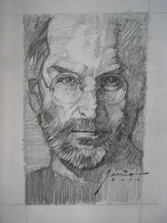 STEVE JOBS CLOSE UP