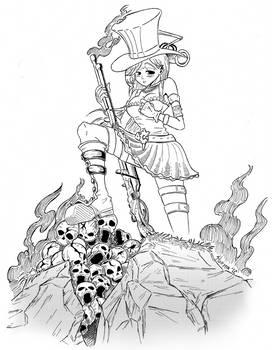 Caitlyn - League of Legends by Sturmir