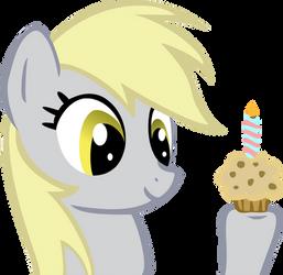 Happy Birthday Derpy by tallguy86