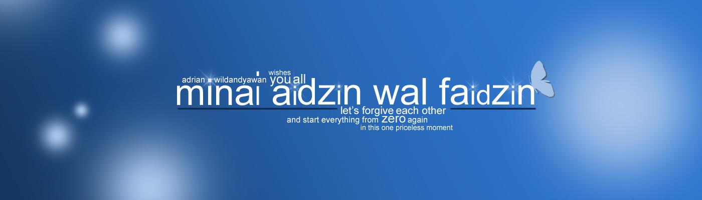 Idul Fitri - In Blue