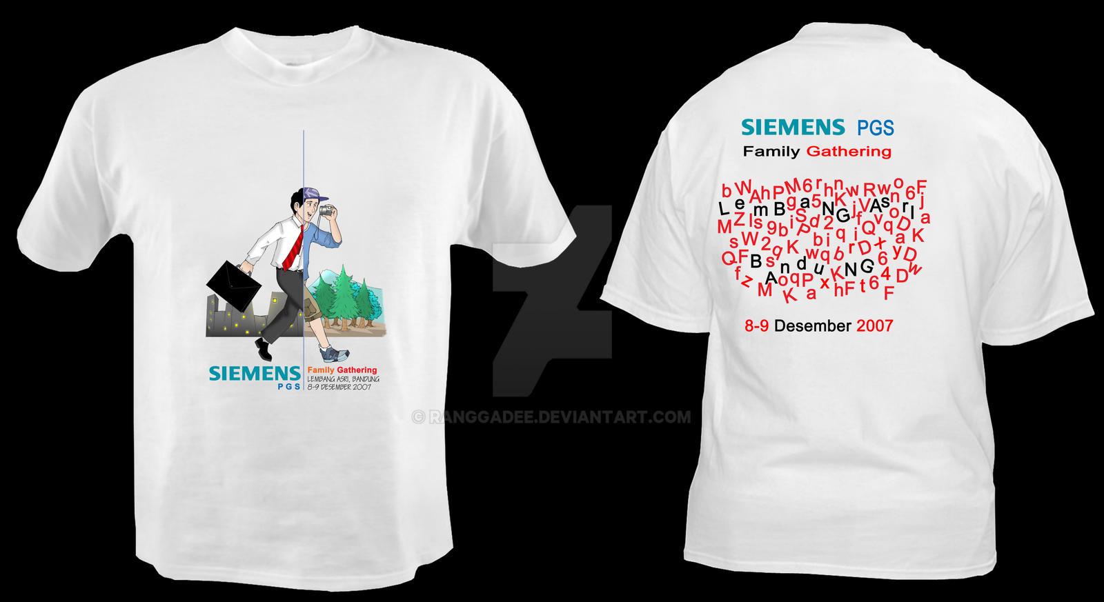 Design t shirt family gathering -  T Shirt Design Ver 2 By Ranggadee