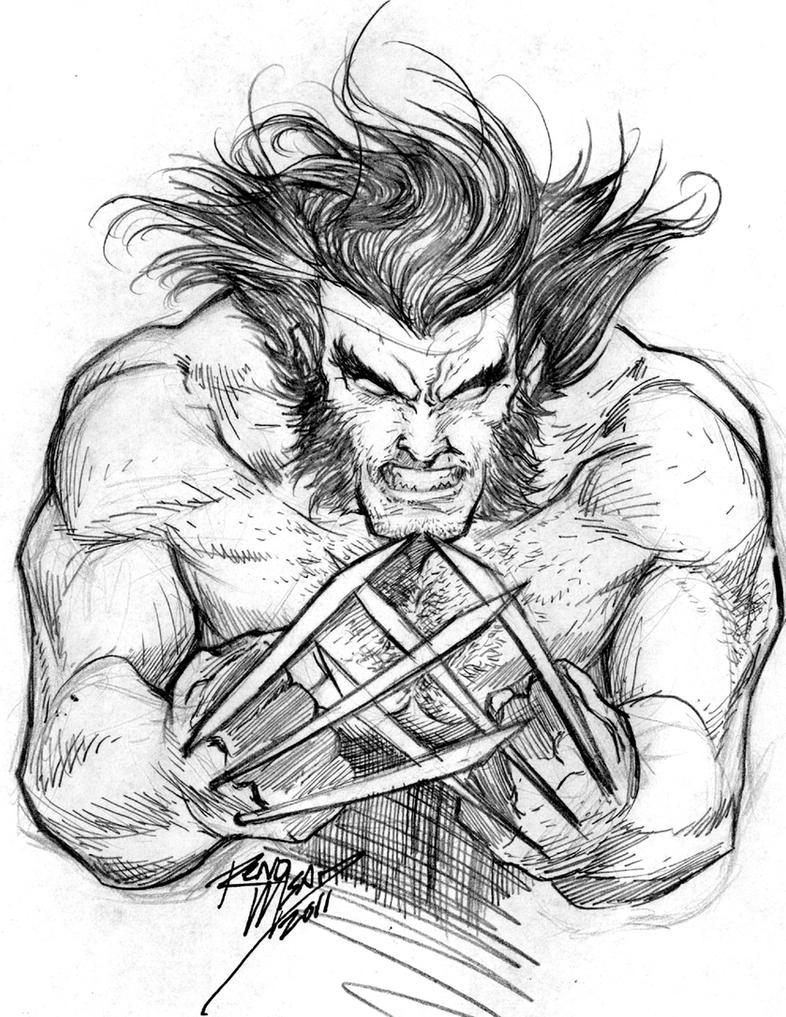 Wolverine Late Night Sketch By Renomsad On DeviantART