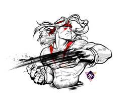 Street Fighter III ALEX quickie! by renomsad