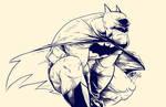 Batman Crouch