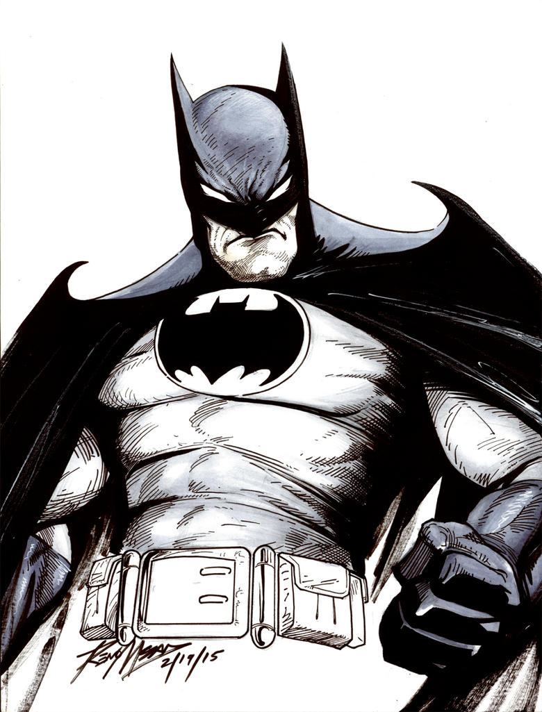 BATMAN COMMISSION by renomsad