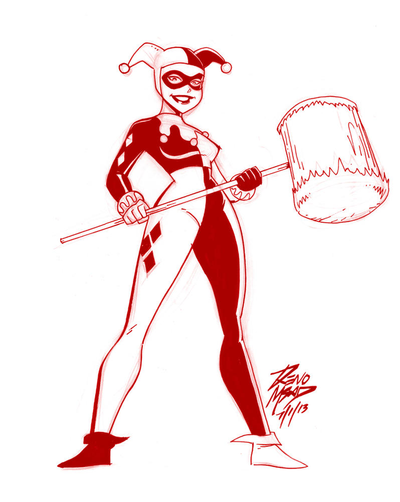 Harley Old sketch by renomsad