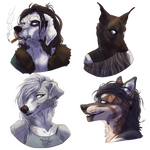 COMMISSION: Several characters 7