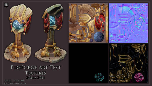 Fireforge Art Test Textures