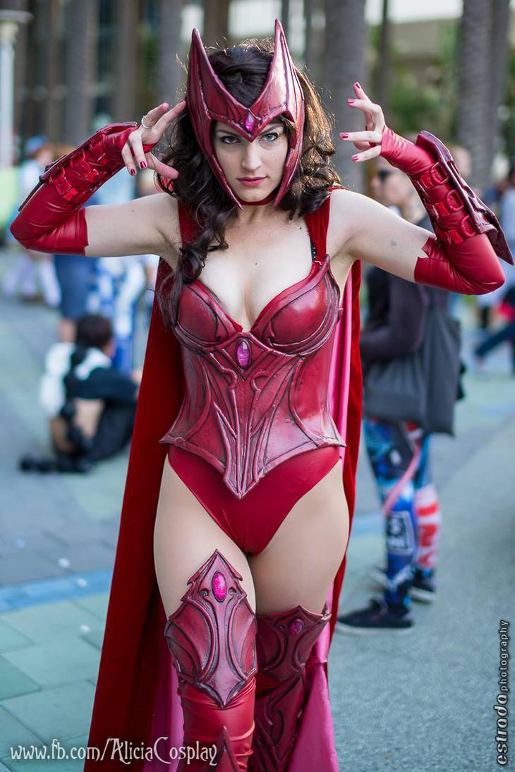 Scarlet Witch - Hex by Vert-Vixen
