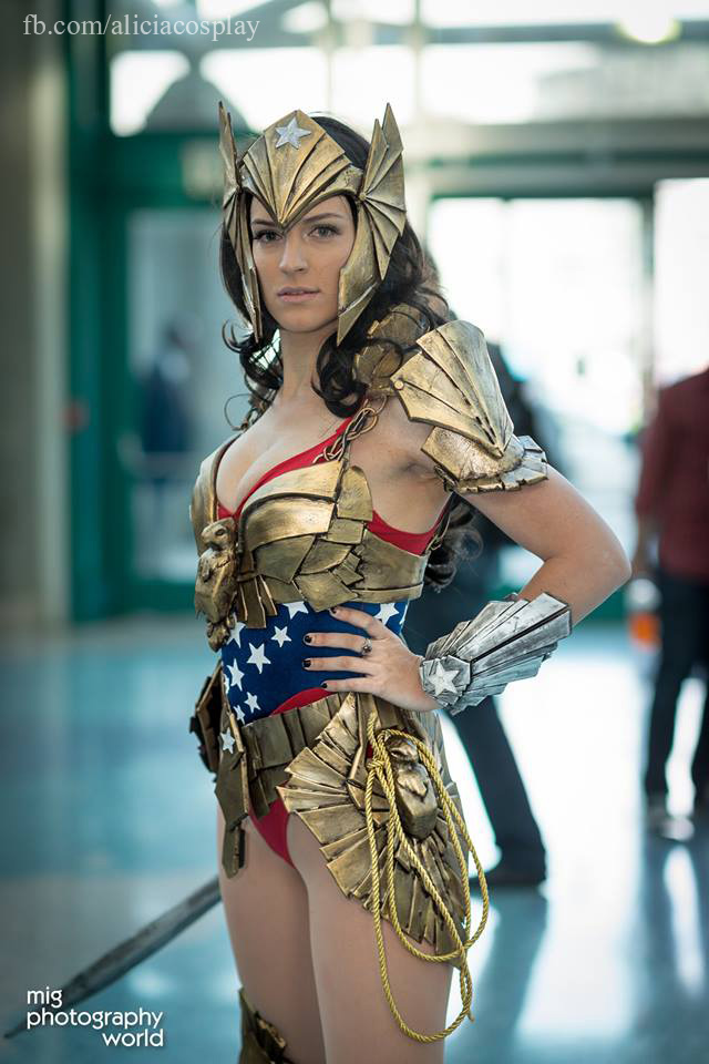 Original Art Deco Wonder Woman Cosplay By Vert Vixen On