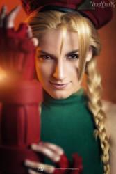 Cammy Street Fighter 2 - Portrait by Vert-Vixen