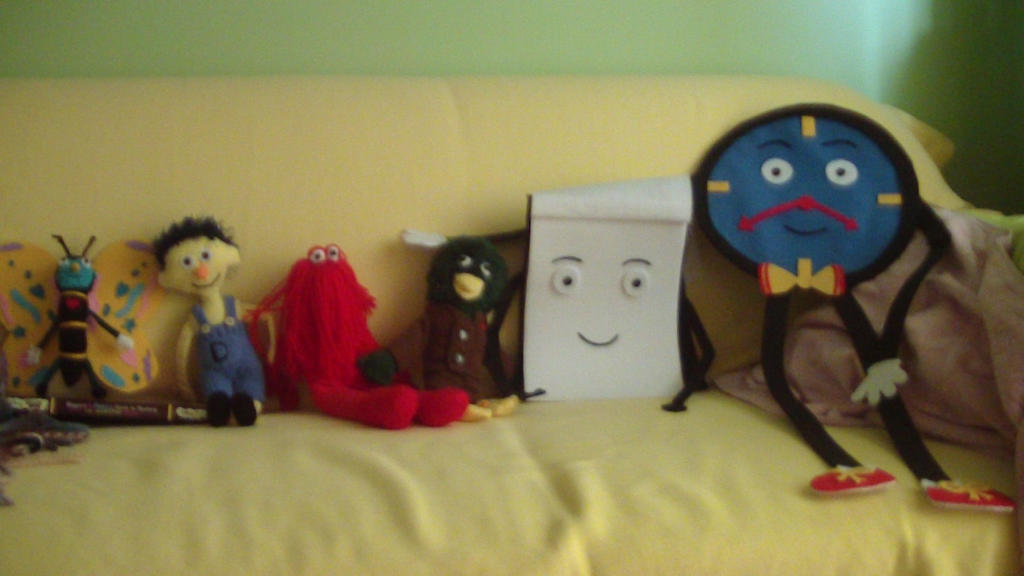 M M Toys Sale : Handmade don t hug me i m scared dolls by bluelight on
