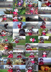 Mabel Pines plushie photo collage by BlueLight439