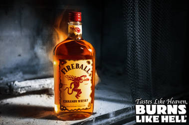 Fireball Whiskey by Virum