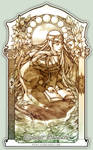 Tarot . The High Priestess