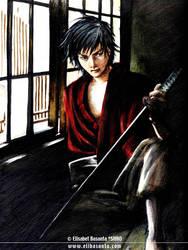 Samurai Shadow by lely