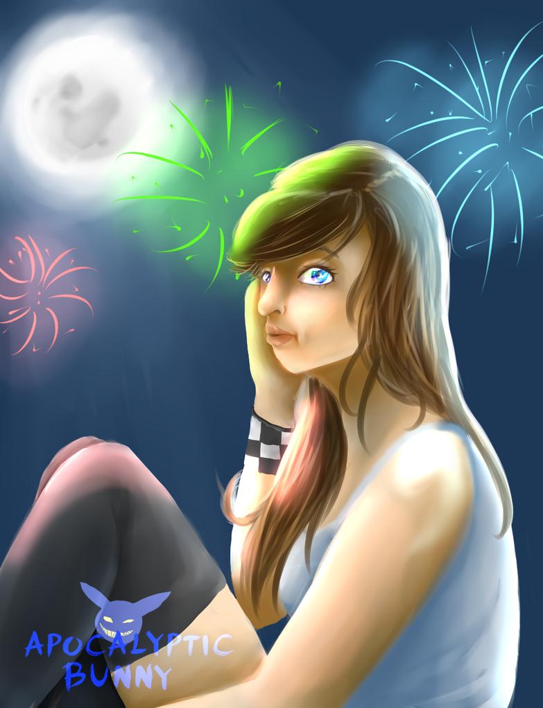 Fireworks by animemary