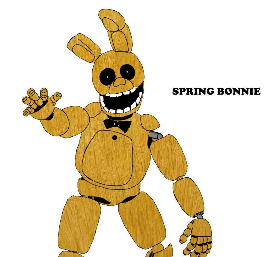 Spring Bonnie By LuaScripts On DeviantArt