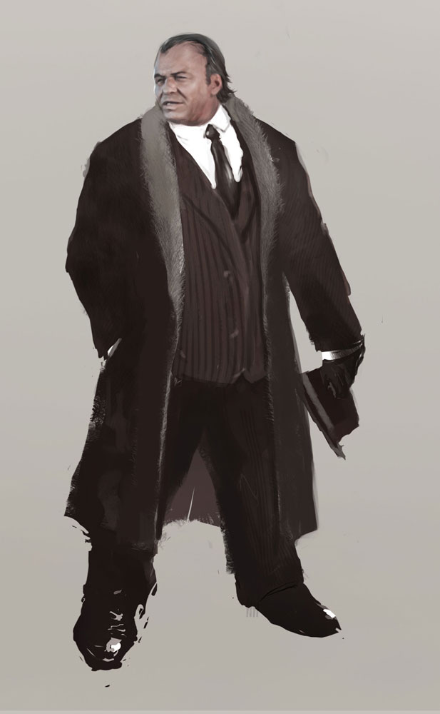 Mafia character concept 2.2 by Panda-Graphics