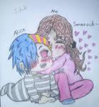 Smoochy~ Happy Belated Valentine's Day! by Buritta-Kitty-Neko