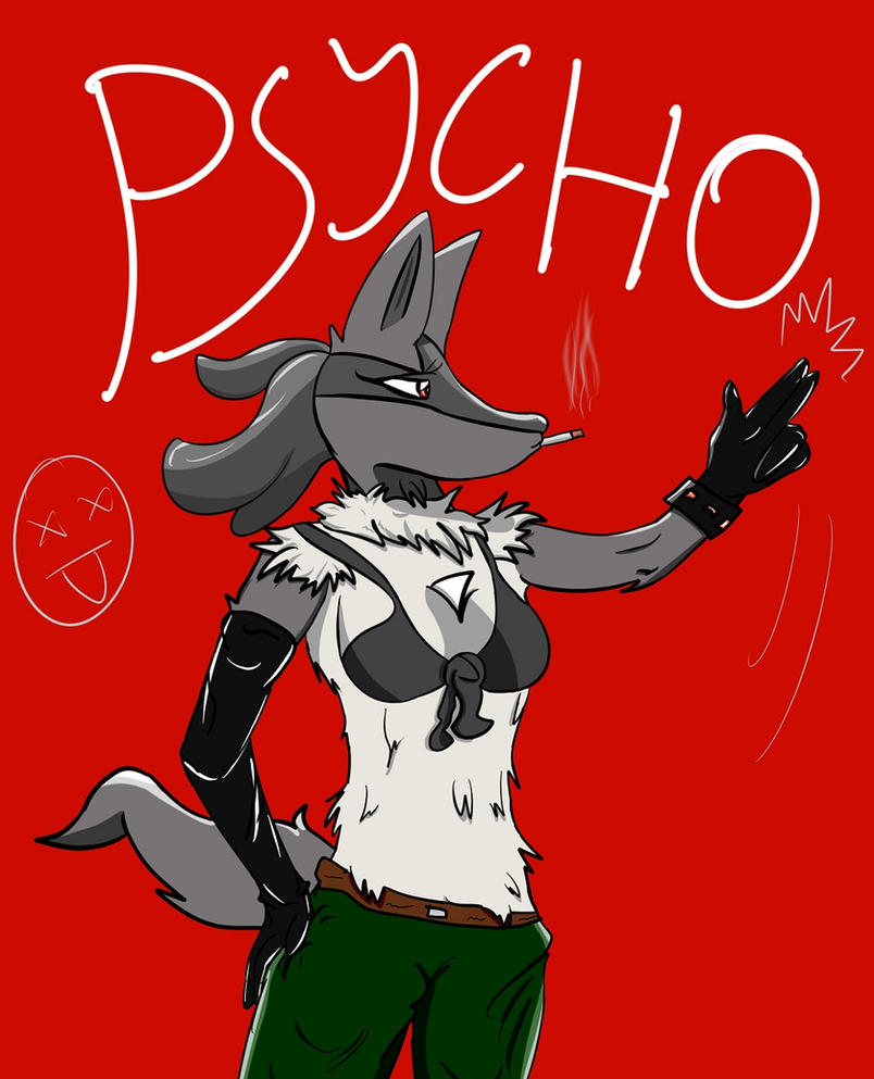 Psycho by HomedogPaws