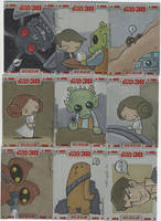 TOPPS Star Wars cards, pt. 1 by katiecandraw