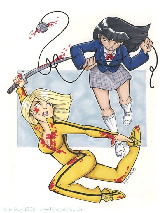 kill bill by katiecandraw