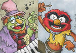 misc. muppet sketch cards